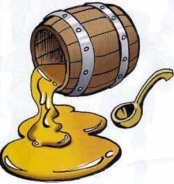 картинки бочонок мёда для детей
